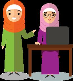 muslim contact info
