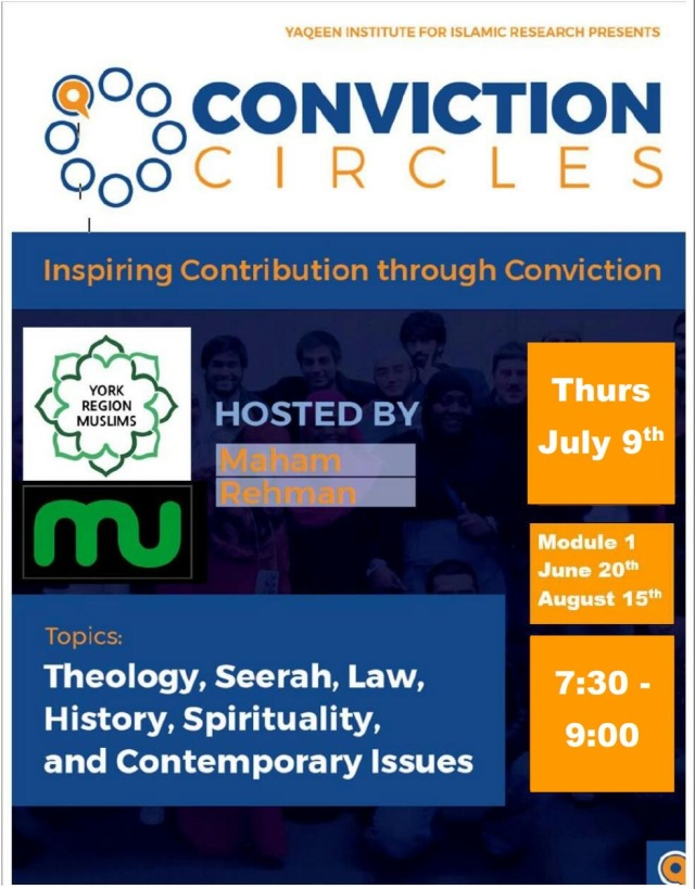 conviction circle